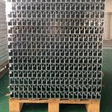 Tuyau d'extrusion en aluminium en forme de H pour cadre d'échelle