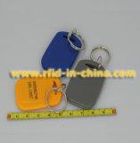 125kHz/13.56MHz RFID主FOBの札(02)