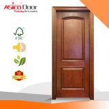 Porte coupe-feu de bois solide Asico/ porte de bois/types de porte en bois de conception