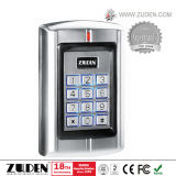Waterproof o controle de acesso da porta do metal RFID do projeto