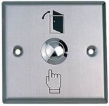 Кнопка выхода двери нержавеющей стали/кнопка (JS-86S)
