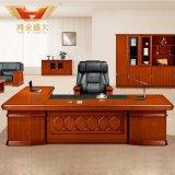 Escritorio de oficina clásico del CEO de madera (HY-D0833)