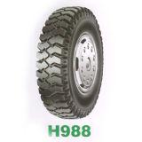 1200-20, 1100-20, 1000-20 neumáticos del neumático del carro de mina
