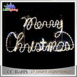 工場直接販売法LEDのクリスマスロープのモチーフLEDの文字ライト