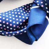 Écharpe molle de vente chaude en gros de polyester d'écharpe tissée par jacquard