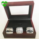 Оптовая торговля новый дизайн Super чашу Seattle Seahawks цинкового сплава серебряный позолоченный Custom спорта реплики мужчин чемпионат мира кольцо