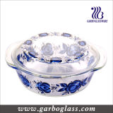 9 '' Pyrex Glass Baking Bowls mit Decal Design (GB13G13265-TH)