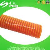 Manguito espiral reforzado plástico del tubo del jardín del agua del polvo de la succión del PVC