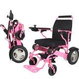Le meilleur fauteuil roulant électrique pliable le plus léger pour les handicapés 26.5kgs