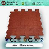 Плитки цветастой спортивной площадки EPDM резиновый/рециркулированная резиновый плитка