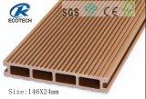 Produto de alta Resistência e Baixa Expansão Deck WPC com a FSC, ISO, certificação CE