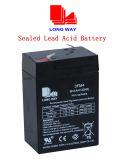 6V4ah brinca a bateria acidificada ao chumbo selada livre da manutenção recarregável