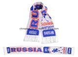 Акриловые связанные чемпионаты хоккея на льду мира шарфа Weave жаккарда (CPAS-1002)