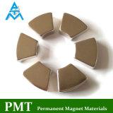 Магнит NdFeB дуги N42m R47xr37X5.1 с постоянным магнитным материалом