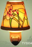 Fragancia de porcelana lámpara de noche