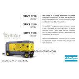 Compresor diesel portable de Copco del atlas del aire del tornillo de alta presión