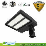 luz do diodo emissor de luz Shoebox da lâmpada do estádio da rua de Pólo dos lotes de estacionamento 150W