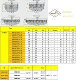 Inserto Fme03-080-A27-Sp12-04 di Cutoutil per Hardmetal d'acciaio che abbina la taglierina di macinazione standard degli strumenti