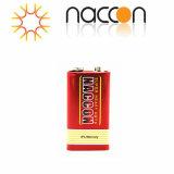 Superhochleistungskohlenstoff-Zink-Batterie der batterie-9V 6f22