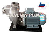 Pompe à eau centrifuge auto-amorçante d'acier inoxydable de transfert