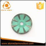 Hoja de sierra de corte curvo de diamantes para la Piedra