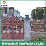 Maison résidentielle décoratifs et protecteurs/balcon/jardin/Ferme/aire de jeux de la sécurité frontalière de clôtures en aluminium