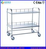 病院の家具の多機能のステンレス鋼の処置の医学の注入のトロリー