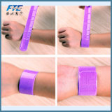Wristband riflettente personalizzato del braccialetto di modo