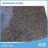 Telhas de granito cinza afiadas populares G654 para pavimentação de pavimentos