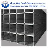tubo d'acciaio del quadrato nero di 150mmx150mm per la costruzione della struttura