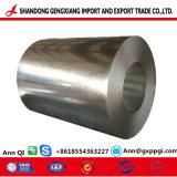 Bobinas de acero galvanizado Zinc-Coating Hoja del techo de la bobina de acero galvanizado/Gi