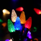 UL M5 C6 C7 C9 LED 안뜰과 크리스마스 나무를 위한 요전같은 장식적인 끈 빛