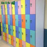 Jialifuのコンパクトの積層物シートのロッカーのキャビネット