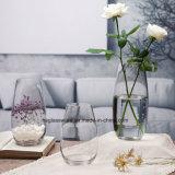 De moderne Creatieve Lijst Rond gemaakte Vaas van het Glas
