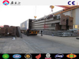 Tettoia industriale portale della struttura d'acciaio del blocco per grafici