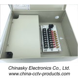 감시 카메라 12V DC 5A (12VDC5A9PN)를 위한 9개의 채널 전원 분배 상자