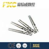Fxc 2/3/4 flautas de carboneto de sólido de alumínio Mills