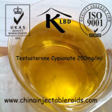 Testosterona semielaborada Cypionate 250mg/ml de la inyección intramuscular en China