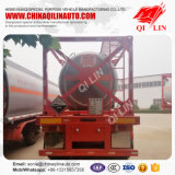30FT Container Sulfuric Acid Tank Semi Trailer with 3 Axles