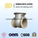 Customized China Fundição Ductile Iron Sand Casting for Pump Fitting