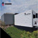 Aluminio compuesto del panel exterior del material de construcción de Serbia 4m m (AF-418)