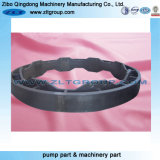 Peças da carcaça do aço inoxidável industrial do OEM/ferro Ductile/cinzento com a areia soprada