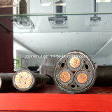 Câble blindé semi-cylindrique semi-cylindrique à base de noyau solide ou torsadé XLPE