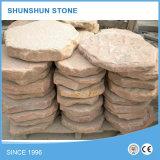 Natürlicher bunter Sandstein-Pflasterung-Stein