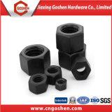 Gr8.8 haute résistance lourde noir de l'écrou hexagonal