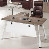 Стол самомоднейшего деревянного меламина панели 0Nисполнительный для офисной мебели