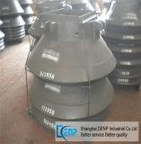 Metso HP700 콘 쇄석기 예비 품목 사발 강선과 맨틀