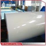 Papel de aluminio revestido del color de Ideabond PVDF/Polyester