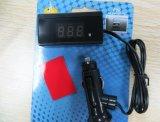 De Meter van de Monitor van het Voltage van de Batterij van de Maat van het Voltage van de Motorfiets van de universele Mini Auto Digitale Rode LEIDENE DC12V/24V Auto van de Voltmeter