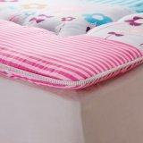 Pista del hotel y casera de colchón de la cubierta del colchón del protector de colchón